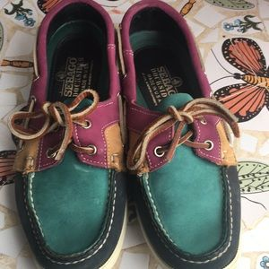 Sebago docksides leather loafers made in USA